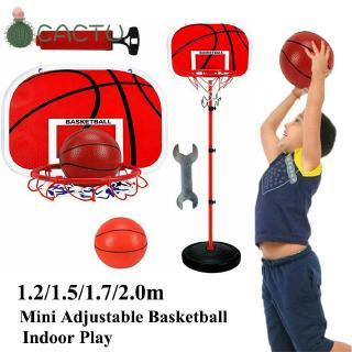 🌵CACTU🌵 1.2/1.5/1.7/2.0m Learning New Outdoor Play Sport Play Mini Adjustable Basketball