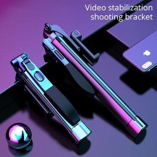 A21 Mobile Phone Stabilizer Folding Gimbal Bluetooth Tripod Outdoor Anti-shake Selfie Stick Bracket with Fill Light