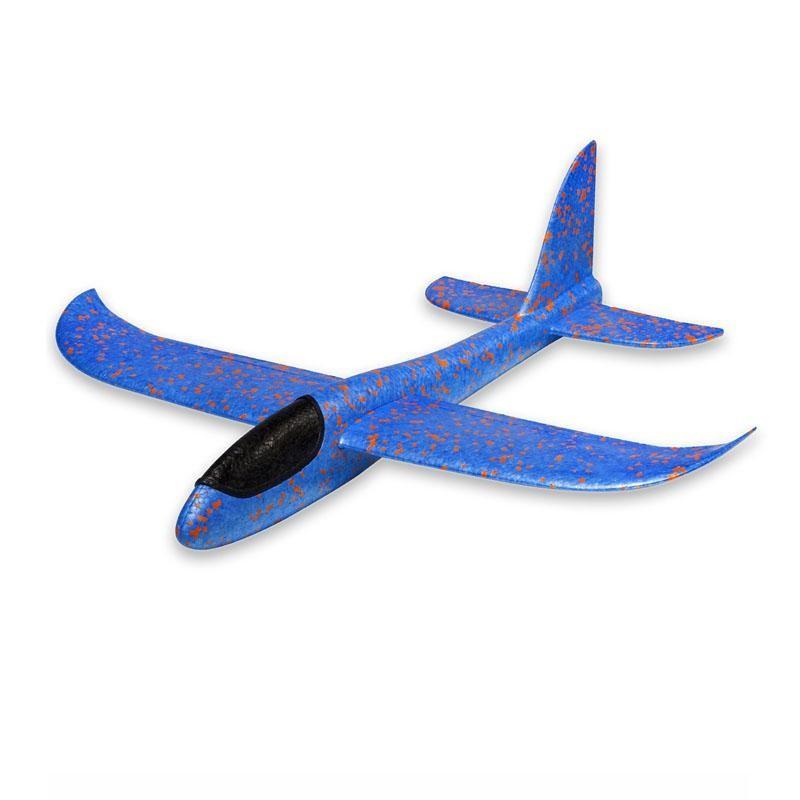 Máy bay xốp tiêm kích phi tay loại to [ 46cm * 48cm ]