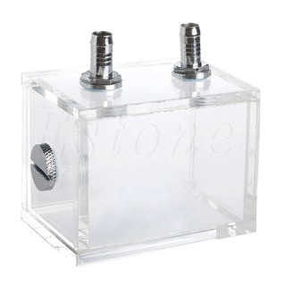 ★Line♣200ml Acrylic Liquid Water Cooled Brushless Pump Tank For CPU Water Cooling