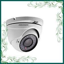 (Rẻ Tẹt Ga) Camera HD-TVI bán cầu hồng ngoại 20m lắp đặt trong nhà 2MP HIKVISION DS-2CE56D0T-IRP (Trắng)