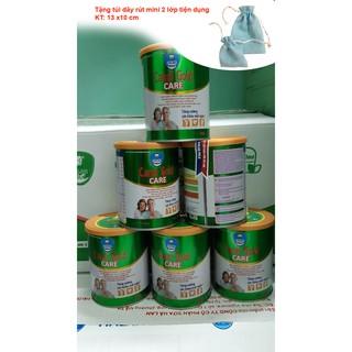 Sữa CANXI GOLD CARE 400g date T4.2024 tặng 01 túi dây rút mini 2 lớp