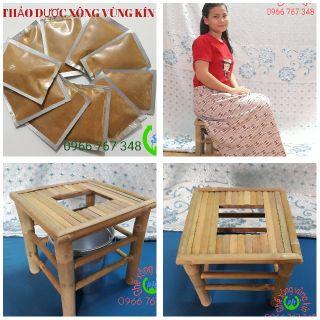 Bộ ghế xông và thảo dược xông vùng kín sau sinh