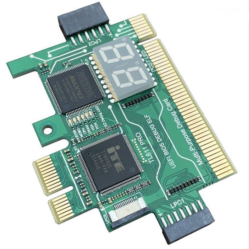 Thẻ Chẩn Đoán Bo Mạch Chủ Tl611 Pro Pci-E Lpc