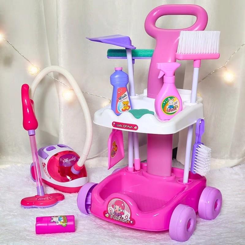 đồ chơi dụng cụ lau nhà cho bé