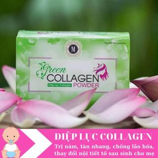Diệp Lục Collagen Trị Nám, Tàn Nhang, Chống Lão Hóa Cho Mẹ
