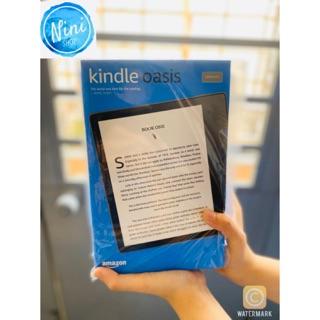 Máy đọc sách Kindle oasis 3 bản 32gb có đèn vàng bảo hành 1 năm 1 đổi 1 tặng kèm túi chống sốc cực tốt