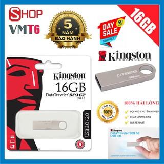 USB Kingston 16GB DataTraveler SE9 G2 tốc độ 3.0 - Bảo hành 5 năm !!!