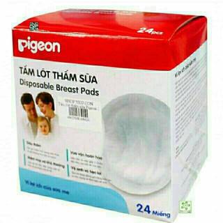 Combo 5 hộp Tấm lót sữa pigeon 24 miếng