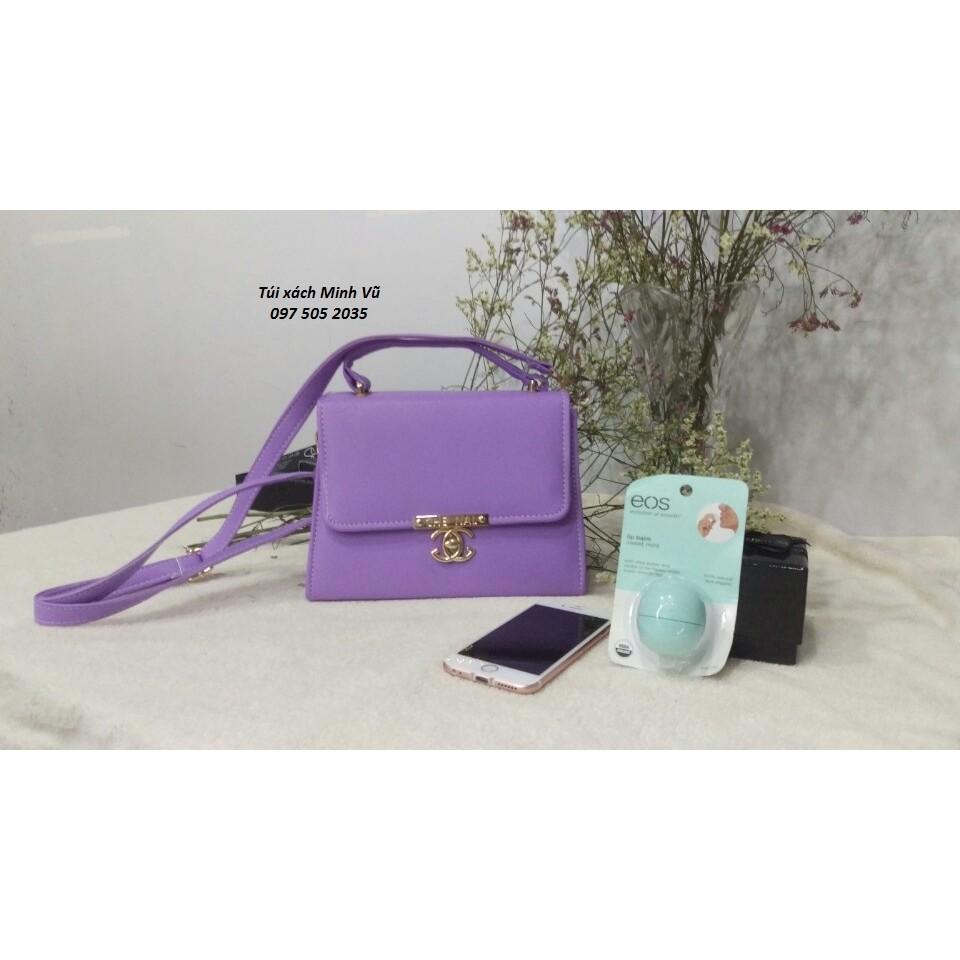 Túi xách nữ Chanel màu tím