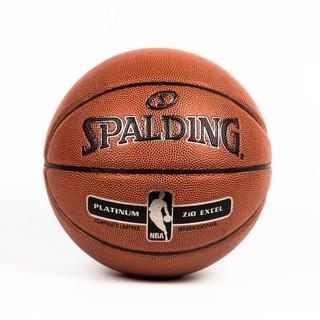 Bóng rổ Spalding NBA Platium ZiO Excel Indoor Outdoor Size 7 da tổng hợp phù hợp với các mặt sân trong nhà và ngoài trời