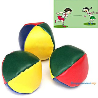 ♥DSP♥Juggling Balls Classic Bean Bag Juggle Magic Circus Beginner Kids Toy