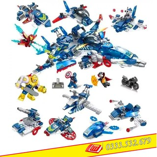 Lego Lắp Ghép Ninjago Heroes Assemble SY1221 / 685PCS (Chi Tiết)