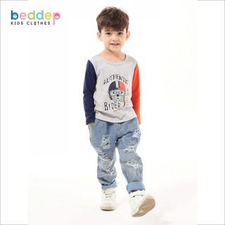 Áo thun dài tay Beddep Kids Clothes in hình cho bé trai từ 1 đến 8 tuổi BP-B13 thumbnail