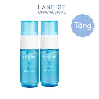 [HB Gift] Bộ Đôi Xịt khoáng cấp ẩm tức thì cho da nhờn dầu Laneige Water Bank Hydro Mist 30mlx2 thumbnail