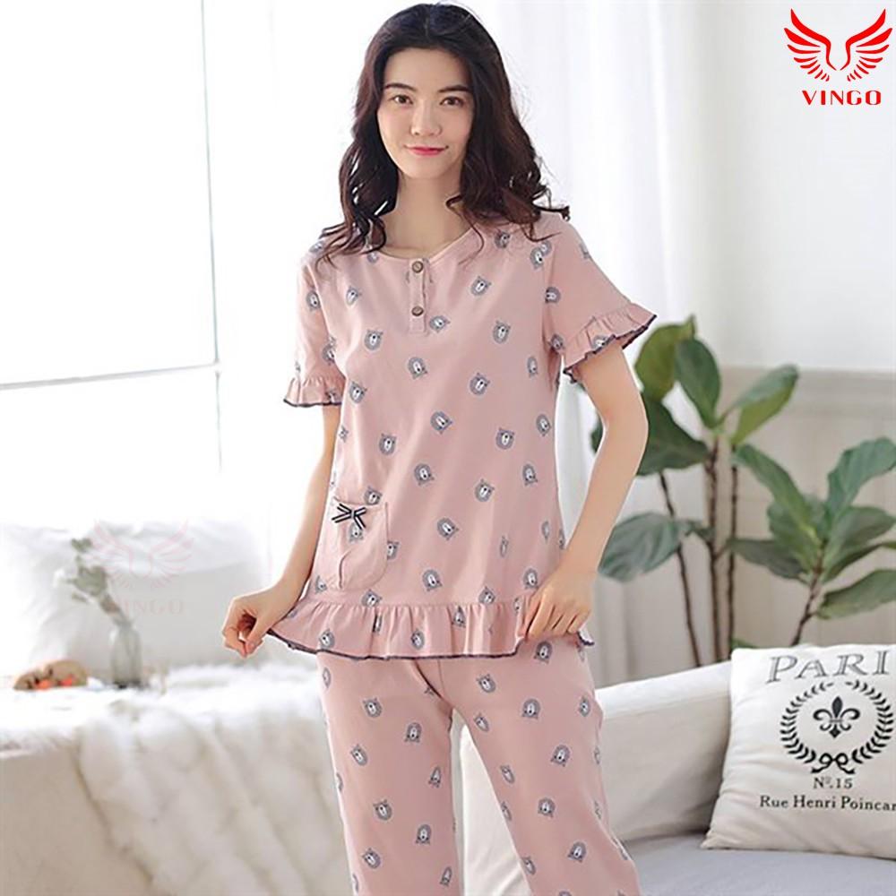 Đồ ngủ, bộ đồ ngủ mùa hè thương hiệu Vingo Việt Nam - 3304062 , 1280345719 , 322_1280345719 , 350000 , Do-ngu-bo-do-ngu-mua-he-thuong-hieu-Vingo-Viet-Nam-322_1280345719 , shopee.vn , Đồ ngủ, bộ đồ ngủ mùa hè thương hiệu Vingo Việt Nam