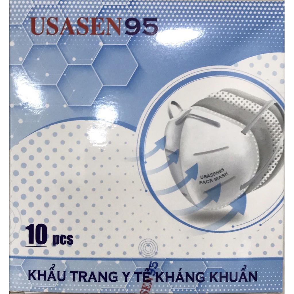 Khẩu trang USASEN N95 kháng khuẩn