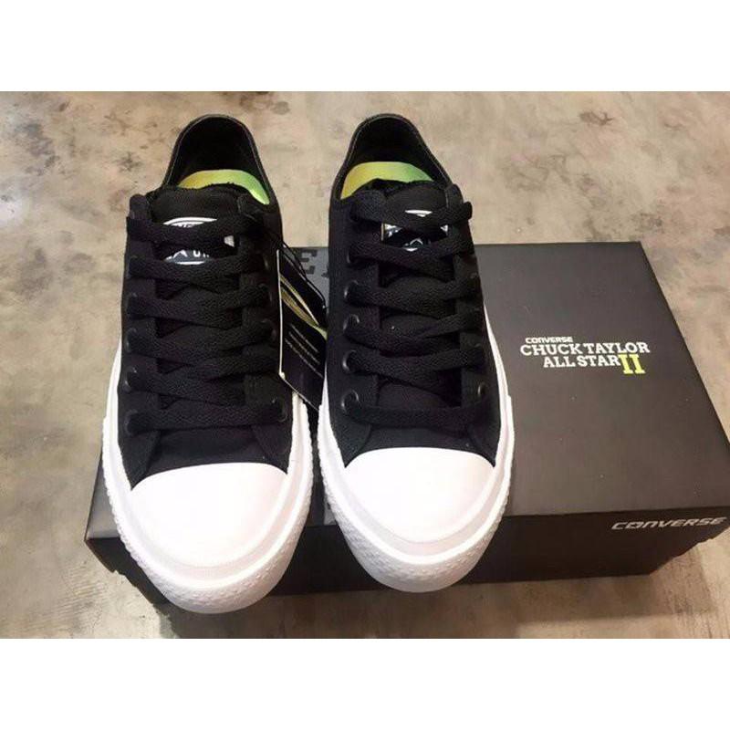 Giày thể thao converse chuck II đen trắng thấp hàng Việt Nam - 3140905 , 467070065 , 322_467070065 , 129000 , Giay-the-thao-converse-chuck-II-den-trang-thap-hang-Viet-Nam-322_467070065 , shopee.vn , Giày thể thao converse chuck II đen trắng thấp hàng Việt Nam