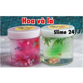 Slime Bộ Đôi Hoa Và Lá