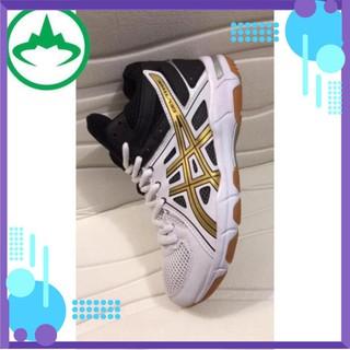 ( Tiply) [Siêu Sale] Giày Bóng Chuyền Asics Tặng Kèm Bó Gối Chính Hãng Đủ Size