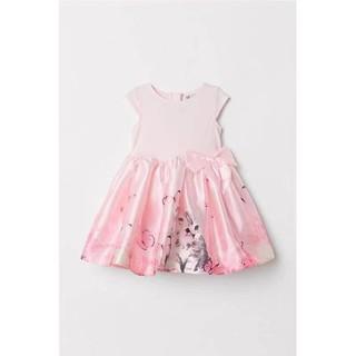 Váy cho bé gái váy xòe H.M dư xịn đét
