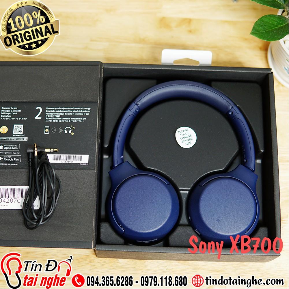 Tai nghe Bluetooth Sony Extrabass WH XB700 | Like New giảm chỉ còn  3,100,000 đ