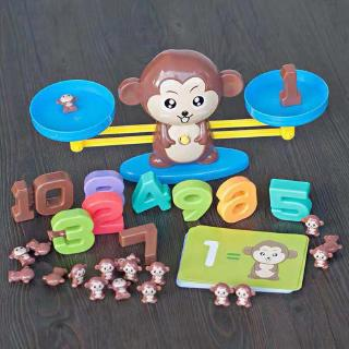 Đồ Chơi Giáo Dục Thẻ Bài Hình Chú Khỉ Đáng Yêu Cho Bé