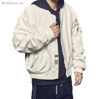 Áo khoác bóng chày kiểu dáng hiphop cá tính dành cho phái mạnh