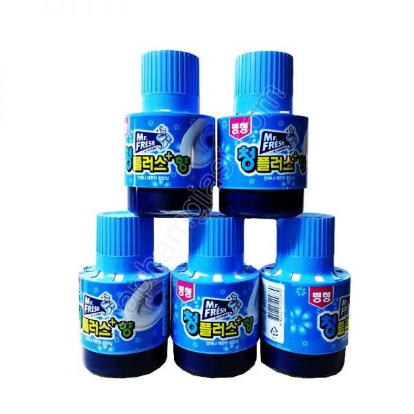Bộ 5 Chai thả bồn cầu tự động làm sạch diệt khuẩn và làm thơm Mr.Fresh - 3221189 , 795365080 , 322_795365080 , 300000 , Bo-5-Chai-tha-bon-cau-tu-dong-lam-sach-diet-khuan-va-lam-thom-Mr.Fresh-322_795365080 , shopee.vn , Bộ 5 Chai thả bồn cầu tự động làm sạch diệt khuẩn và làm thơm Mr.Fresh