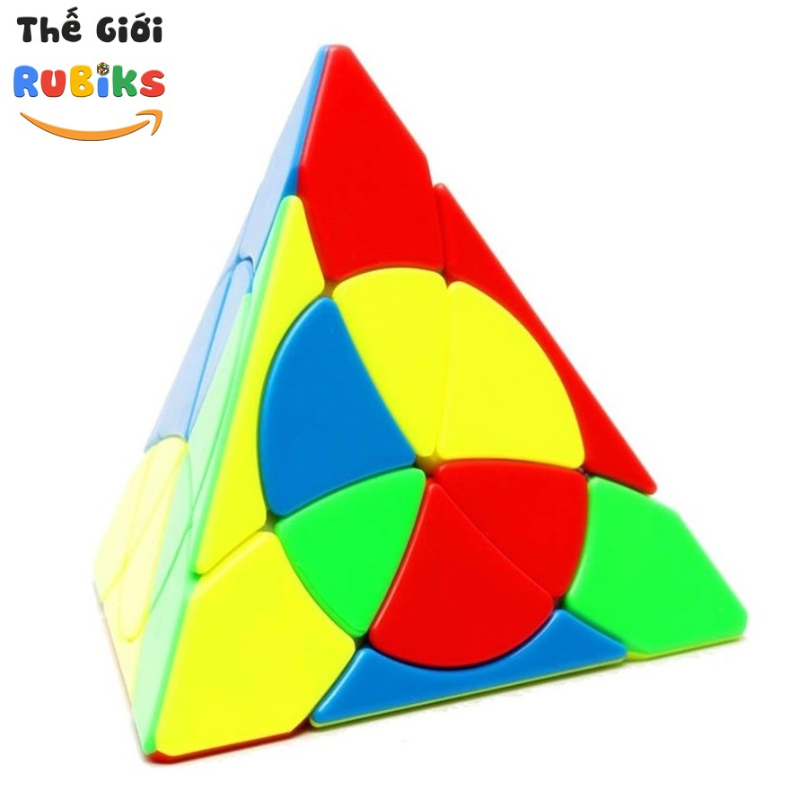 Biến Thể Rubik YJ Petal Pyramid Yulong JinZiTa Tam Giác Pyraminx Cube