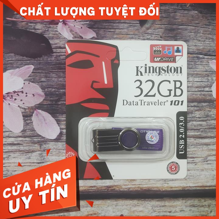 GIÁ HỜI -[Rẻ Vô Địch] USB Kingston 32g Hàng Chính Hãng FPT Phân PhốiBảo Hành 1 Năm