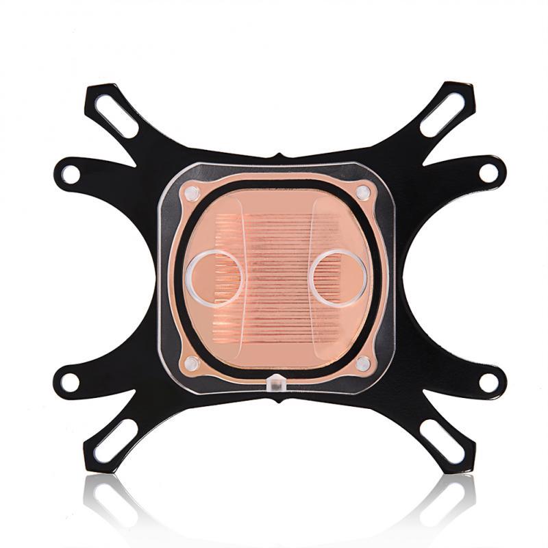 Khối tản nhiệt nước 50mm đế đồng dành cho máy tính/CPU Intel/AMD