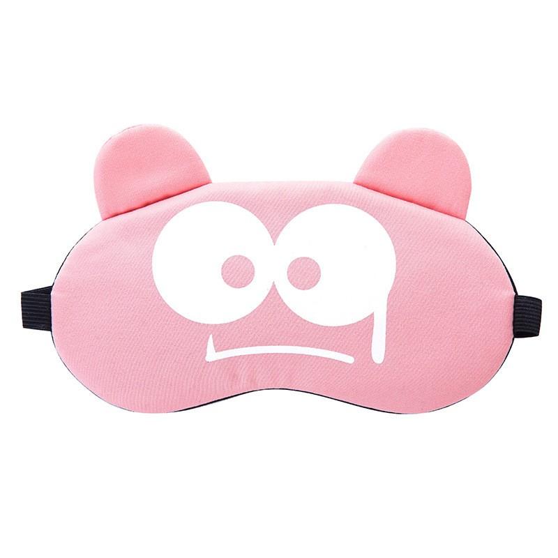 Miếng bịt mắt ngủ 3D có túi gel làm mát mắt hình ảnh hoạt hình dễ thương