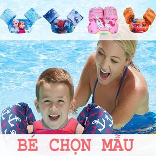 [MẪU MỚI] Áo Phao Đỡ Ngực Kèm Phao Tay, Có Đai Điều Chỉnh Cho Trẻ Học Bơi