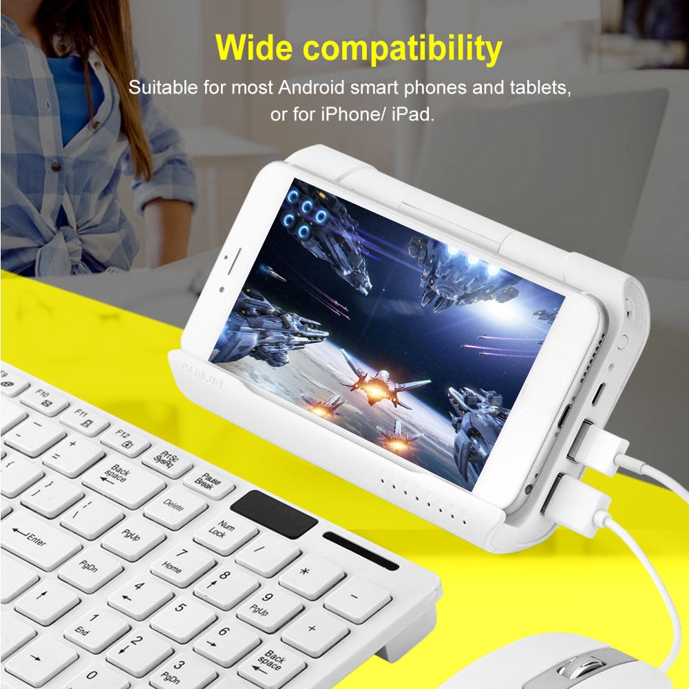 Bluetooth Joypad For PUBG Moblie Gaming Controller PC Converter
