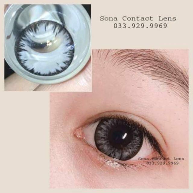 Combo 4 món lens+ ngâm + nhỏ + khay gương chính hãng