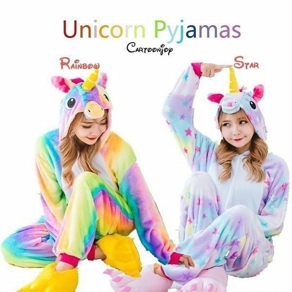 Đồ ngủ Pijama hình Unicorn dễ thương cho nữ
