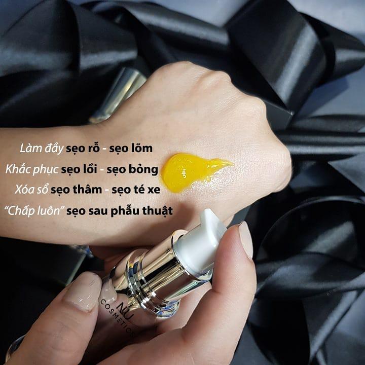 Gel Liền Sẹo Rỗ, Sẹo Lâu Năm, Trị Lỗ Chân Lông To Nu.cosmetic Handmade