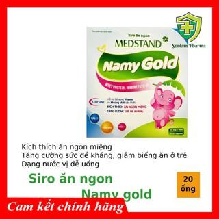 Ống uống kích thích ăn ngon cho bé Siro Namy Gold- Hộp 20 ống thumbnail