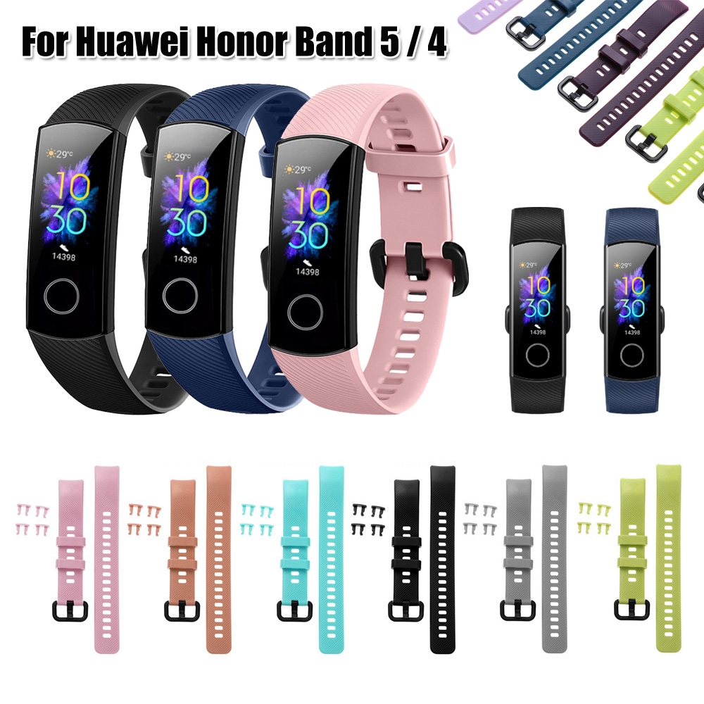 Dây Đeo Thay Thế Nhiều Màu Sắc Cho Huawei Honor Band 5 4