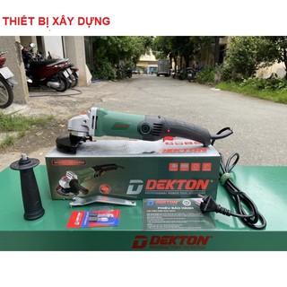 máy cắt cầm tay Dekton DK-AG950 950W có chỉnh tốc độ,công tắc bóp đường kính đá cắt 100mm-thiet bi xay dung