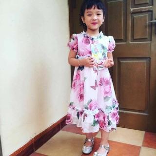 Váy Hoa Voan Cao Cấp