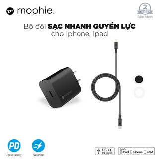 Combo sạc nhanh Mophie Power Delivery 20W USB-C thumbnail