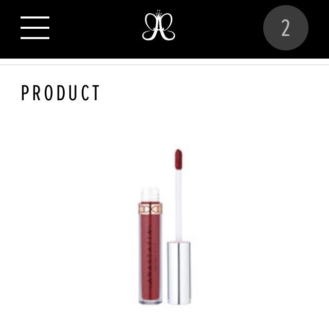 Son Anastasia beverly hill liquid lipstick ( order ) - 14079932 , 1376070418 , 322_1376070418 , 290000 , Son-Anastasia-beverly-hill-liquid-lipstick-order--322_1376070418 , shopee.vn , Son Anastasia beverly hill liquid lipstick ( order )
