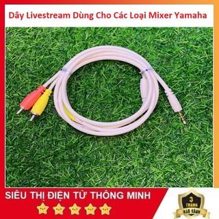Dây Livestream Dùng Cho Mixer, F4, F7, G4, M4, Chất Lượng Cao Chuyên Thu Âm - Âm Thanh Stereo thumbnail