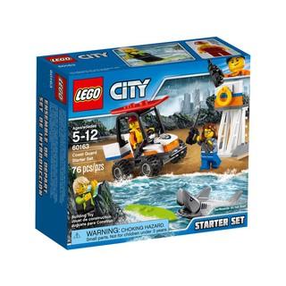Đồ Chơi LEGO City 60163 – Đội Cứu Hộ Bờ Biển