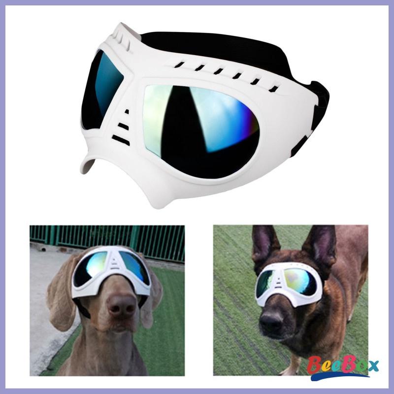 BeeBox Dog Sunglasses Pet Goggles Fog Protection Glasses Eye Wear Black