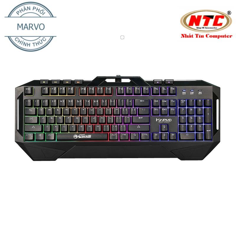 Bàn phím giả cơ chuyên Game Marvo KG860 led đa màu - hỗ trợ 6 phím multimedia (Đen) - 2511740 , 1273751234 , 322_1273751234 , 700000 , Ban-phim-gia-co-chuyen-Game-Marvo-KG860-led-da-mau-ho-tro-6-phim-multimedia-Den-322_1273751234 , shopee.vn , Bàn phím giả cơ chuyên Game Marvo KG860 led đa màu - hỗ trợ 6 phím multimedia (Đen)