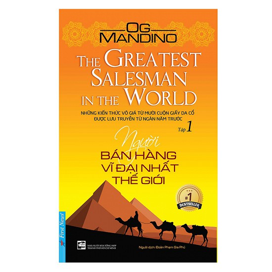 Sách - Người Bán Hàng Vĩ Đại Nhất Thế Giới (Tập 1)