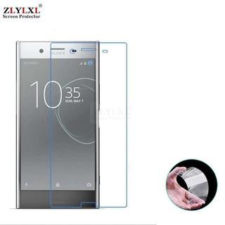 Ốp Lưng Trong Suốt + 2 Kính Cường Lực Bảo Vệ Màn Hình Cho Sony Xperia Xz Premium